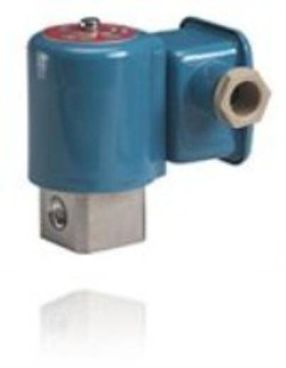 EV215B is a direct-operated 2/2-way solenoid valve for use in steam application.The design is based on the usual Danfoss concept for direct operated high performance valves, but with a PTFE valve plate, ensuring high reliable function even in connection with contaminated steam.