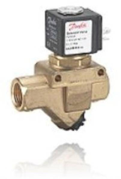 EV220A is a compact indirect servo-operated 2/2-way solenoid valve program, especially designed for use in machines and equipment with limited space.The built-in and interchangeable filter ensures long-lasting problem free operation, even when used with water, oil and air with impurities.