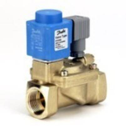 EV220B 15-50 is a universal indirect servo-operated 2/2-way solenoid valve program.Valve body in brass, dezincification resistant brass and stainless steel ensures that a broad variety of application can be covered.Built-in pilot filter as standard, adjustable closing time and enclosures up to IP67 ensures optimal performance even under critical working conditions.