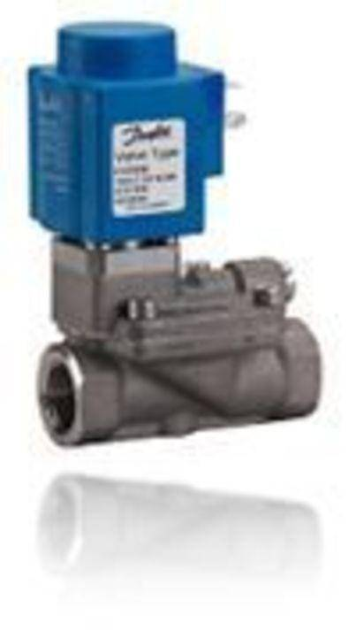 EV222B is an indirect servo-operated solenoid valve program for use in connection with contaminated or aggressive media.Valve body in stainless steel, isolating diaphragm protecting the solenoid system against impurities, build in pilot filter, adjustable closing time, enclosures up to IP67 ensure a reliable and satisfaction function.