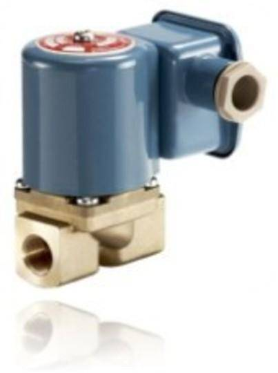 EV225B is a servo-operated 2/2-way solenoid valve for use in steam application.The design is based on a PTFE diaphragm concept, ensuring high reliable function even in connection with contaminated steam.Valve body in dezincification resistant brass and valve seats made in stainless steel for ensuring a long life even in connection with aggressive steam media.Coil type BR can be used on EV225B.