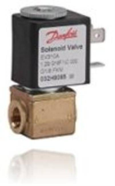 EV310A covers a wide range of small competitive, direct-operated 3/2-way solenoid valves for use within industrial applications, for example pilot valve applications.